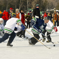 Steve Chomeau, Door County Pond Hockey Tournament
