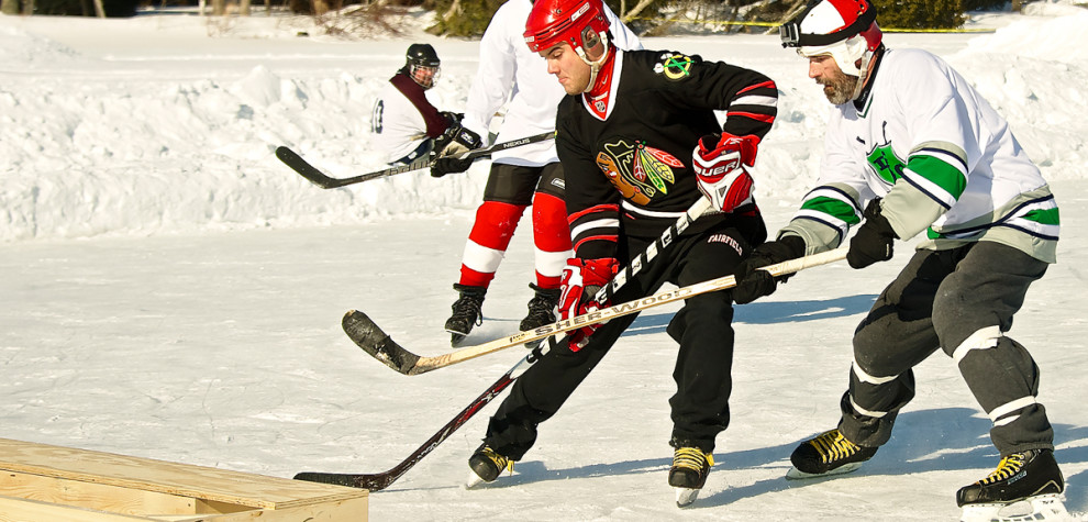 Door County Pond Hockey Tournament, Feb. 6 2016