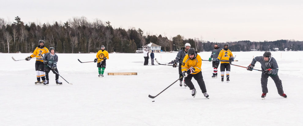 Pond Hockey Header